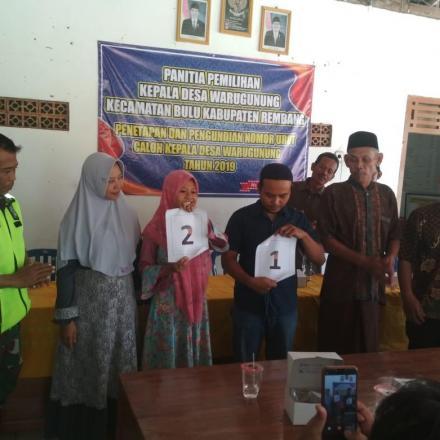Pasangan Suami Istri maju Dalam Pemilihan Kepala Desa Warugunung