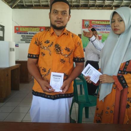 Kepala Desa Terpilih Desa Warugunung adalah Bapak Muh.Kamal Sabba